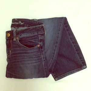 American Eagle Jeans Size 6 Short Stretch Low Rise